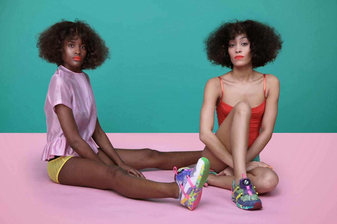 Solange Knowles y su línea de zapatillas para Puma
