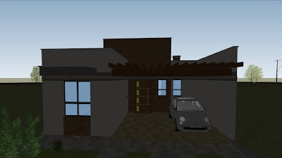 A versão profissional do SketchUp permite a geolocalização do projeto, com estudo da incidência solar na construção em diferentes estações e horários.