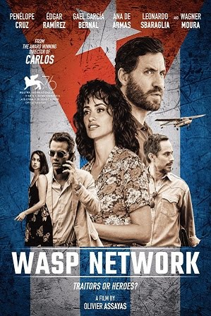 Watch Online Free Wasp Network 2020 Full Hindi Dual Audio Movie Donwload 480p 720p WEBRip