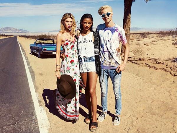 H&M Loves Coachella colección ropa accesorios