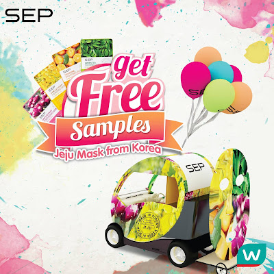 Watsons FREE SEP Mask Samples Giveaway