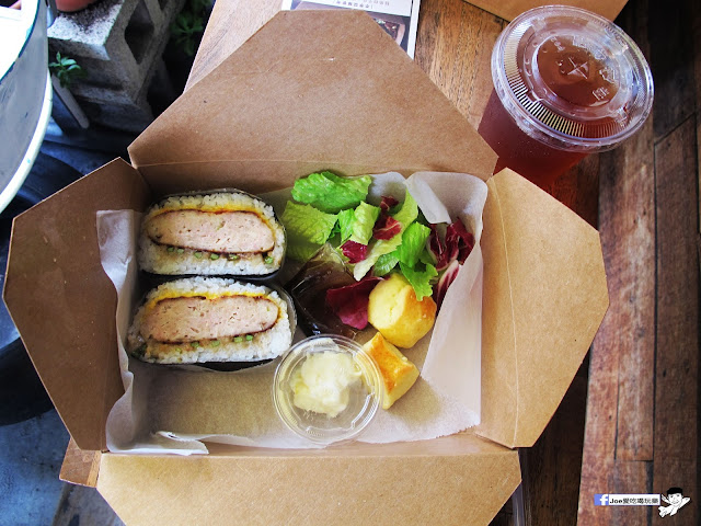 IMG 0444 - 隱藏在教師新村裡的 大小食事│客製化精緻餐盒,漢堡排川飯糰很推薦
