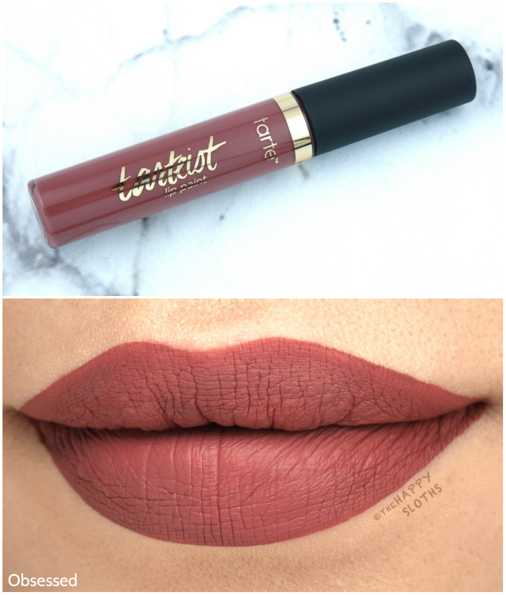 "Tarte Tarteist Quick Dry Lip Paint in ""Obsessed"": Review and Swatches"