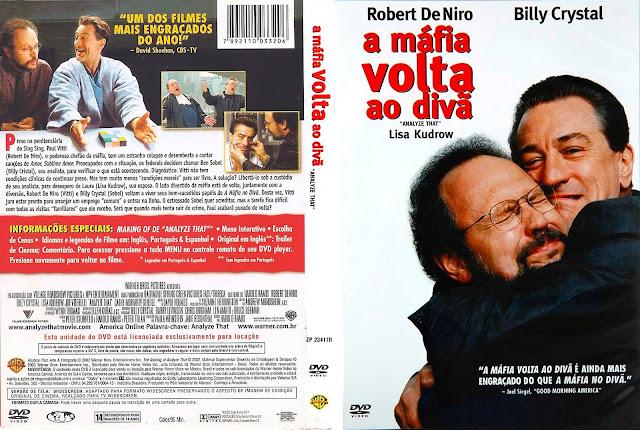 Capa DVD A Mafia Volta ao Divã