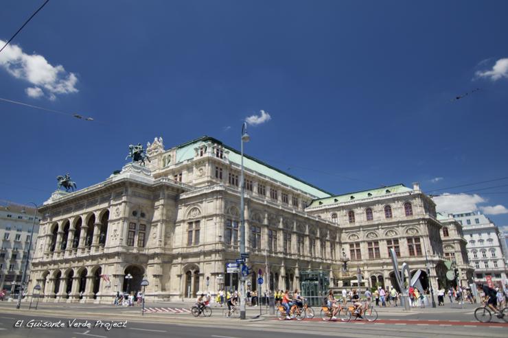 Wiener Staatsoper - Viena, por El Guisante Verde Project