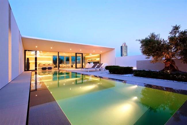 casas minimalistas y modernas villa minimalista