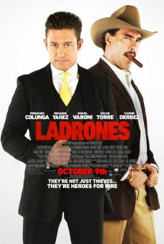 Ladrones [2015] [DVDR] [NTSC] [Latino]