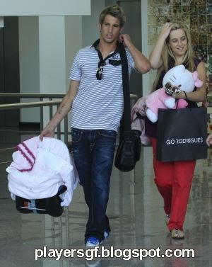 Fábio Coentrão and his hot wife Andreia Santos