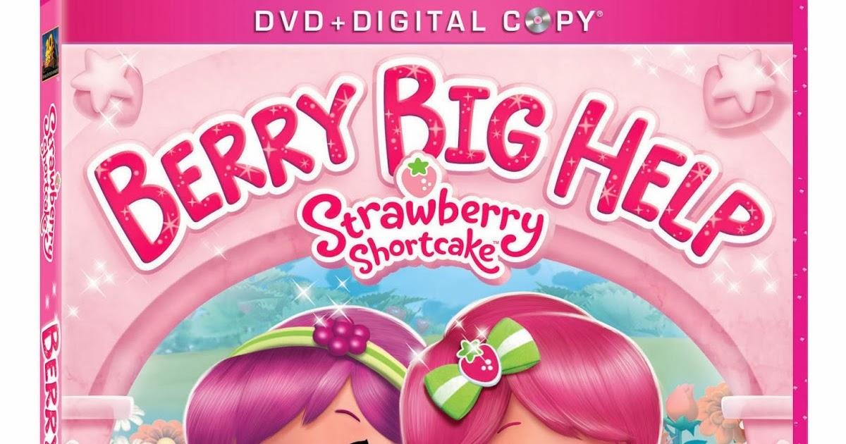 Strawberry Shortcake Berry Big Help Dvd Amp Coloring Sheet