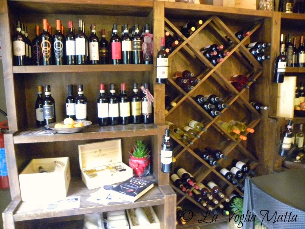 Enoteca L'Etrusco i vini