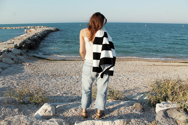 jeans larghi Zara