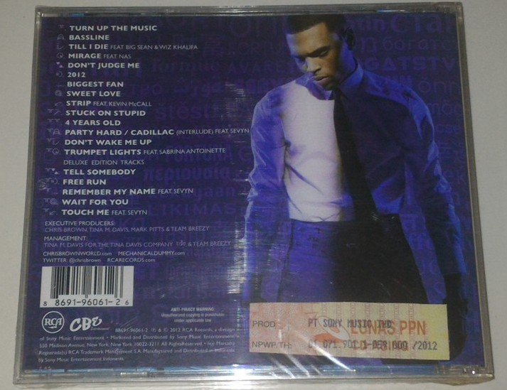 CD Chris Brown - Fortune Deluxe Edition - GUDANG MUSIK SHOP