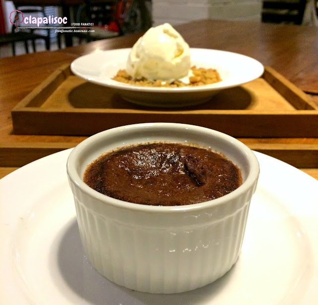 Chocolate Lava Cake from Hai Chix and Steaks Green Hills
