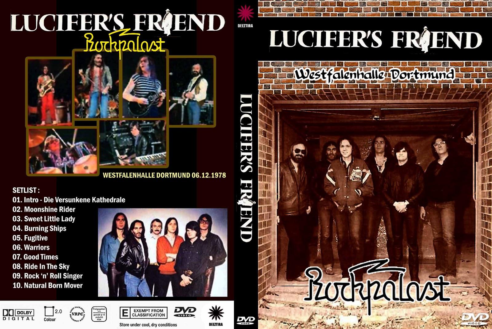 Youdiscoll Lucifer S Friend Westfalenhalle Dortmund 1978
