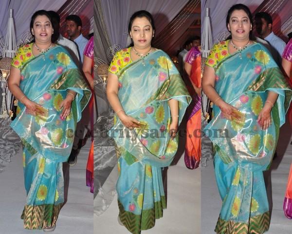 Vasundhara At Priyanka Dutta Wedding Saree Blouse Patterns
