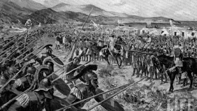 Τα πέντε ανεξήγητα φαινόμενα της μάχης του Μαραθώνα