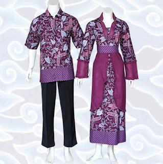 model baju batik couple anak muda untuk pernikahan