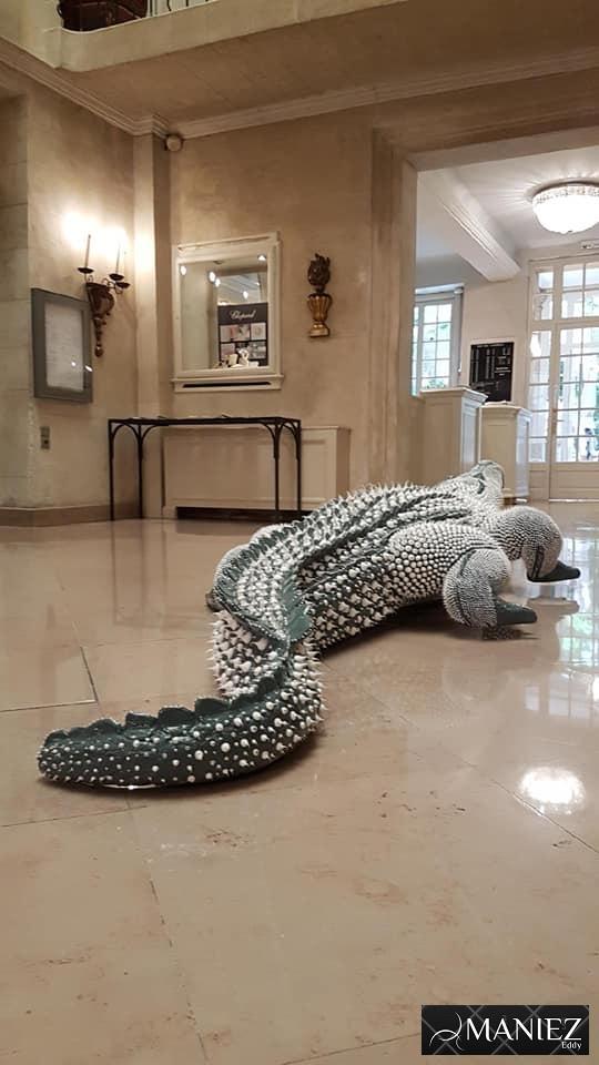 Crocodile Silicone de maniez Eddy