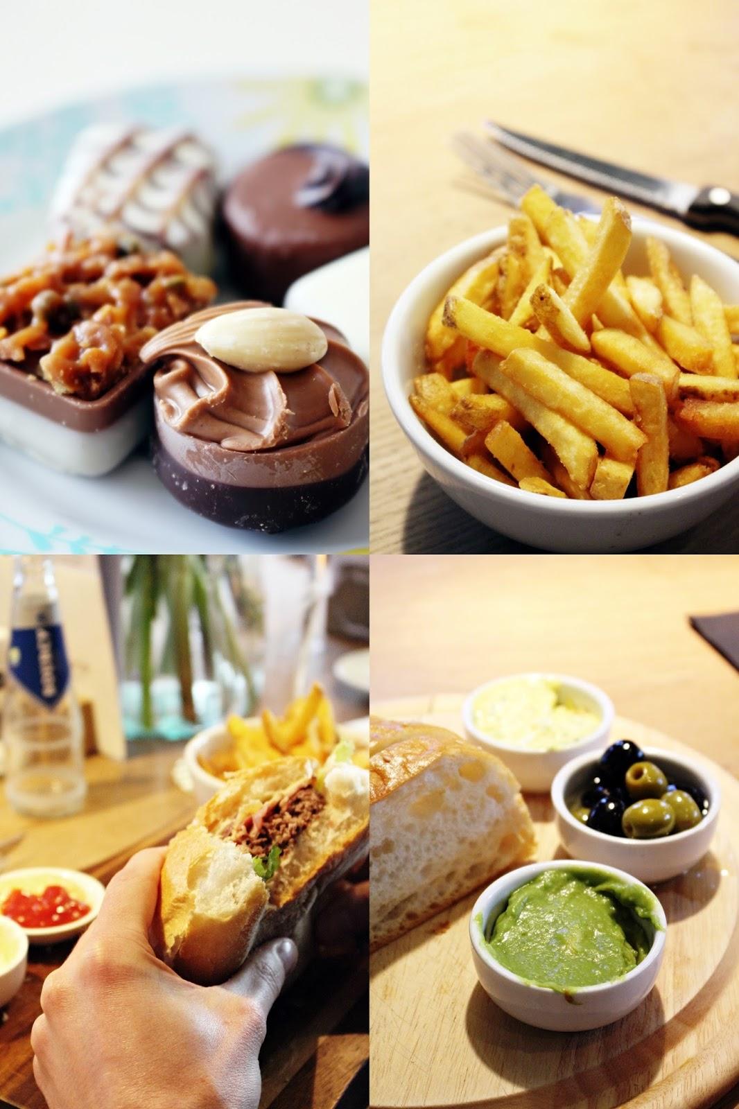 Kulinarisches Amsterdam: Burger, Cookies, Schokolade