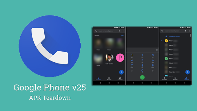 Google Phone v25 Update to Download with Dark Theme & Blocked Number Data Sharing