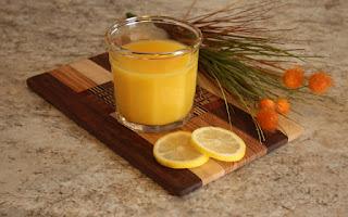 Melão e limão em seu shake para perder peso