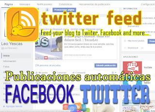 Como compartir tu blog en las redes sociales automaticamente