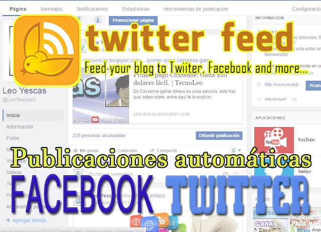 ¿Cómo compartir tu blog en las redes sociales automáticamente?