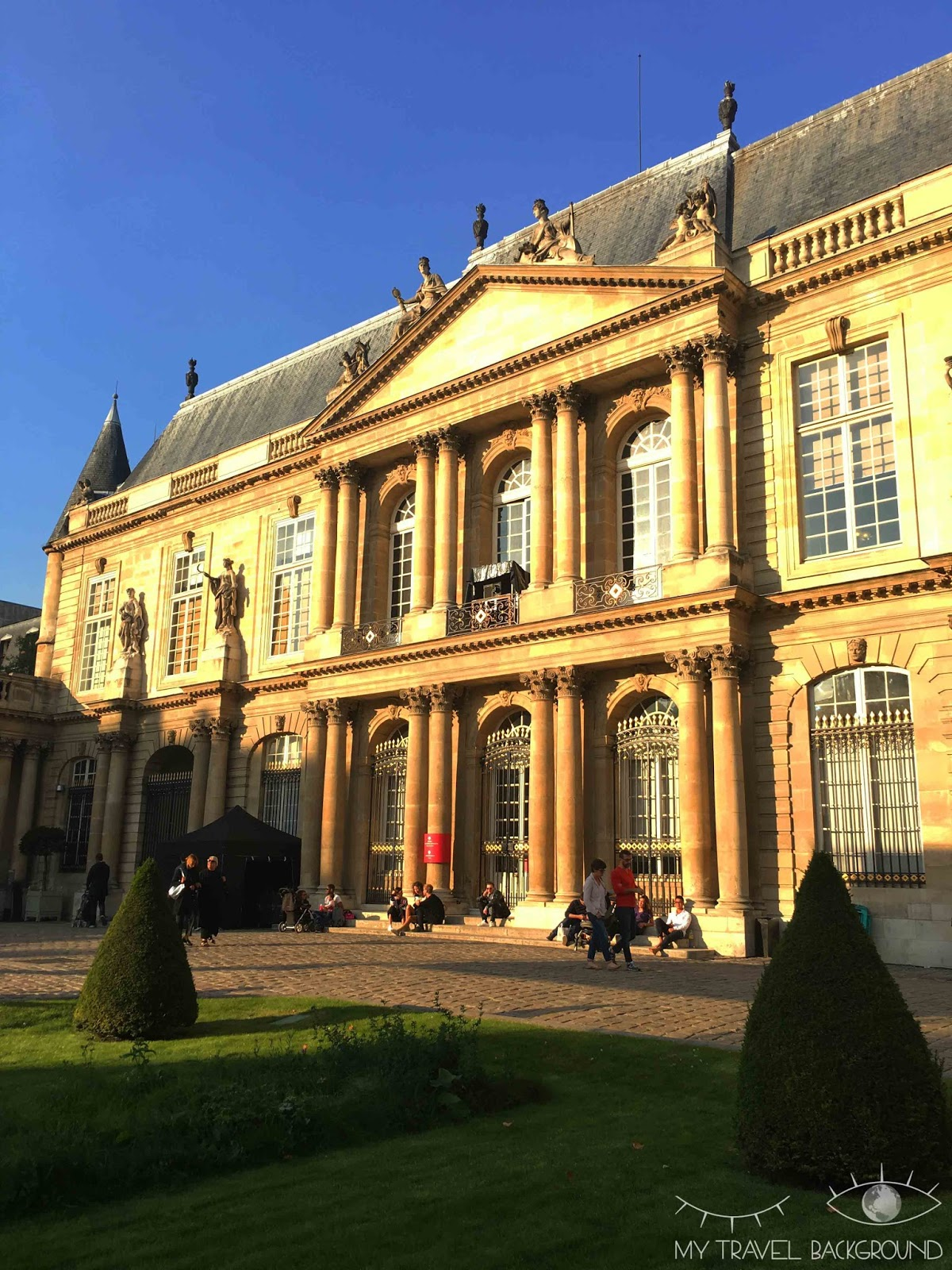 My Travel Background : #ParisPromenade, Le Marais - Les Archives Nationales