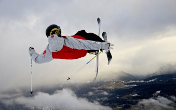 Wallpaper: Freestyle Skiing