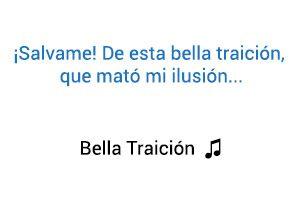 Belinda Bella Traición significado de la canción.