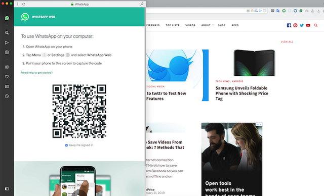 Anlık mesajlaşma uygulamalarınızı Opera ile bağdaştırıp kullanabilirsiniz