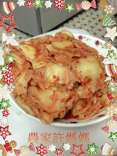 農家許媽媽韓國泡菜-愛不釋手韓國泡菜鍋作法