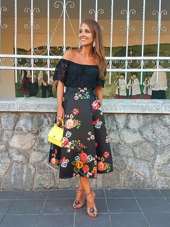 Cómo coser falda midi con pliegos como la de Paula Echevarria - El ... 31ab5bb428c0