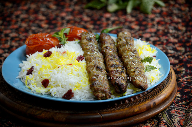 Persian Meat Mince Kebab
