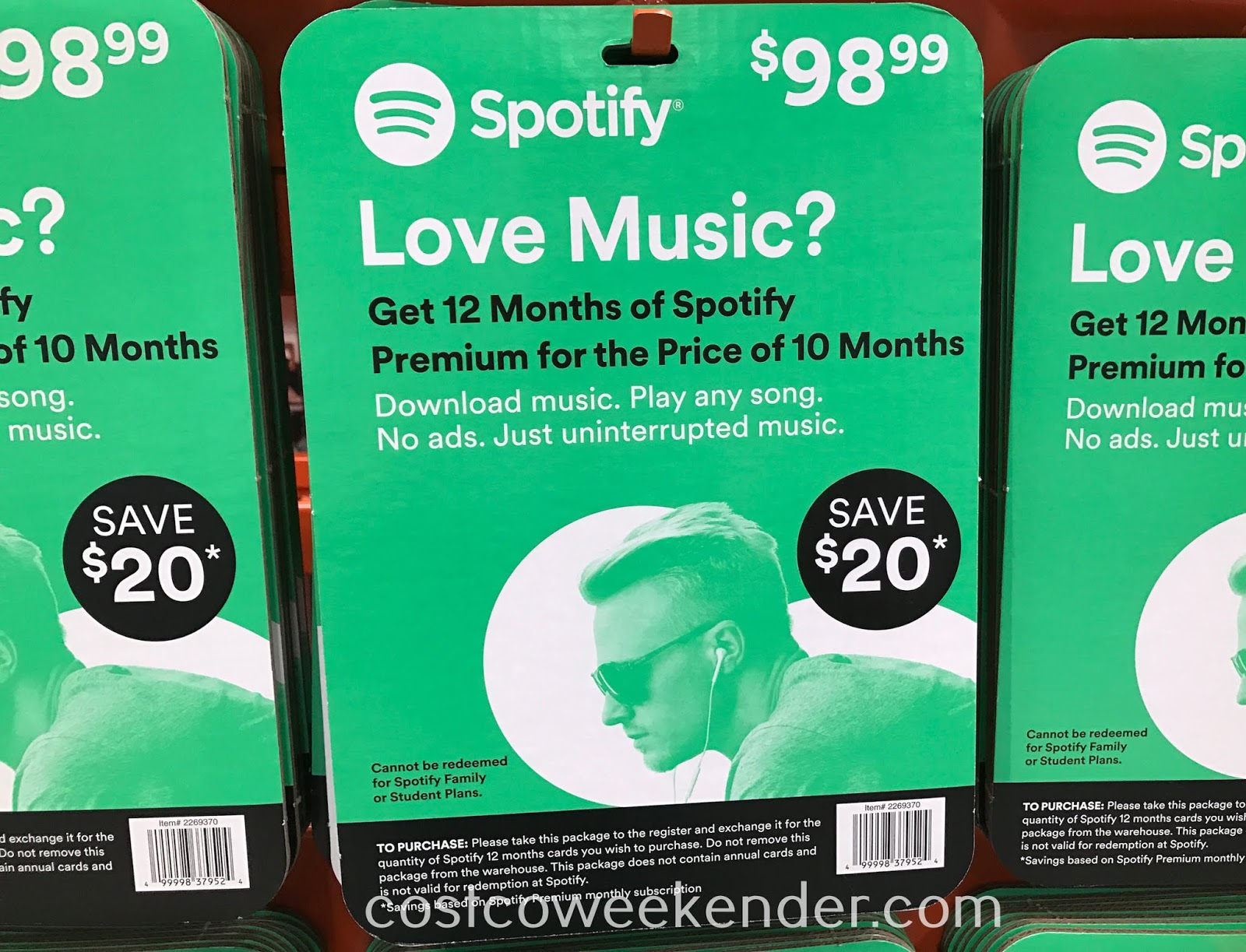 Easily listen to your favorite songs with Spotify