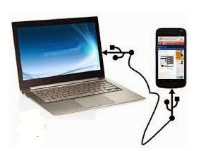 cara transfer atau memindahkan file dari hp android ke komputer pc atau laptop