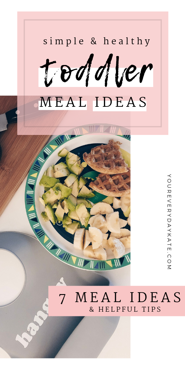 simple toddler meal ideas pin