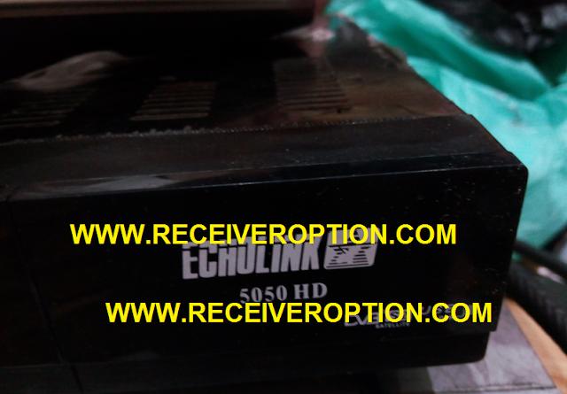 ECHOLINK 5050 HD RECEIVER BISS KEY OPTION