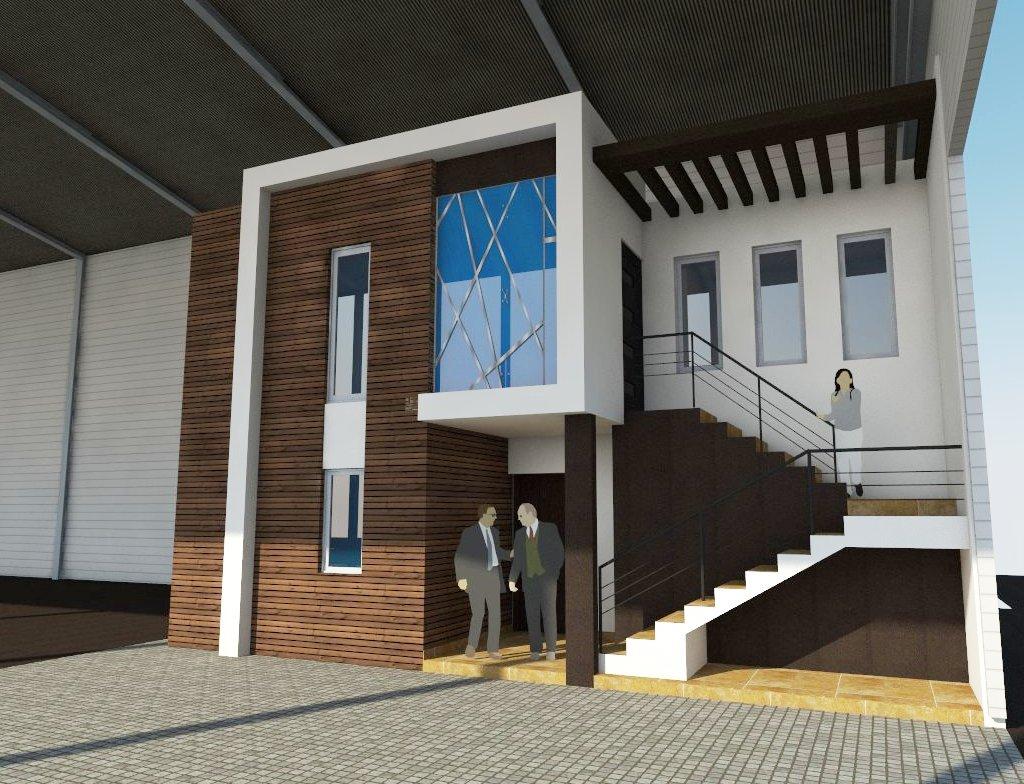 Arquitectura martin abel oficinas c g for Exterior oficinas