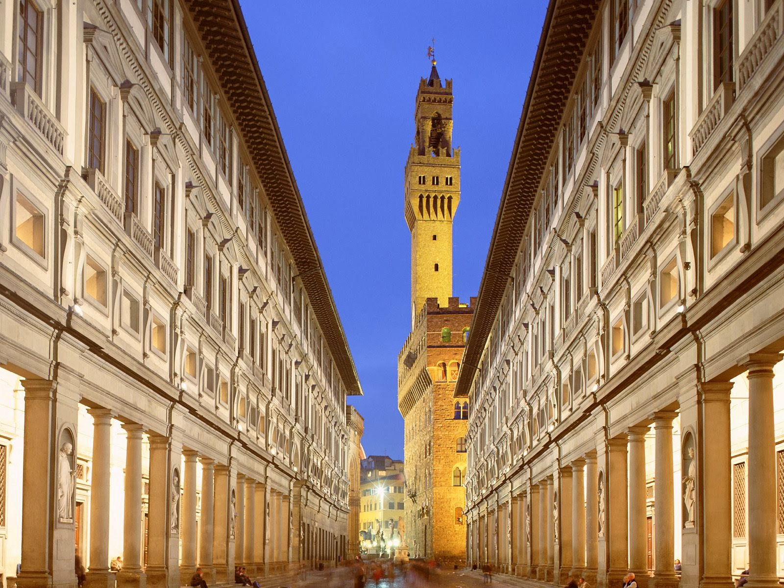 Italian Florence: World Visits: Uffizi Gallery, Great Art Gallery, In
