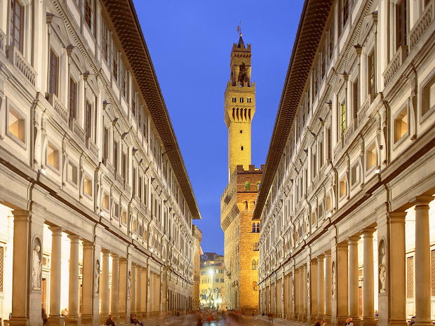 World Visits Uffizi Great Art In