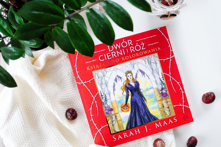 Dwór cierni i róż książka do kolorowania – Sarah J. Maas