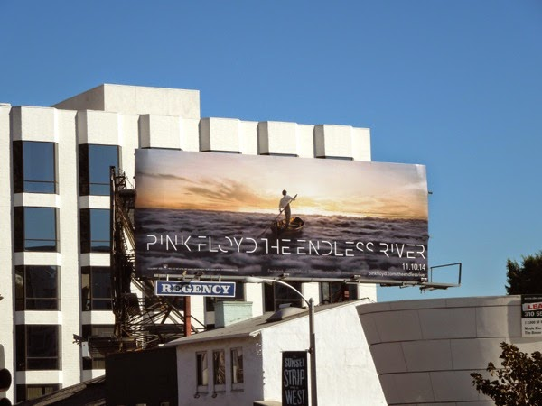Pink Floyd Endless River album billboard