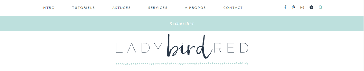 Nouveau design du blog Lady Bird Red