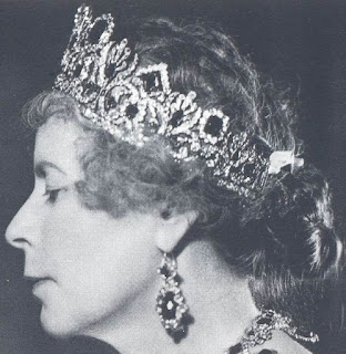 Empress Marie Louise France Emerald Diadem Tiara Nitot Princess Alice Altenburg