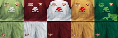 PES 6 Kits FC Torino Season 2017/2018 by VillaPilla