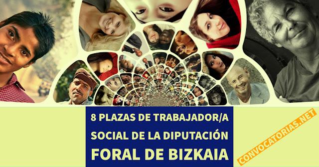 Trabajadores sociales para cubrir 8 puestos en Bizkaia