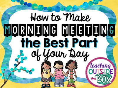 How to make morning meeting the best part of your day teach how to make morning meeting the best part of your day m4hsunfo Image collections