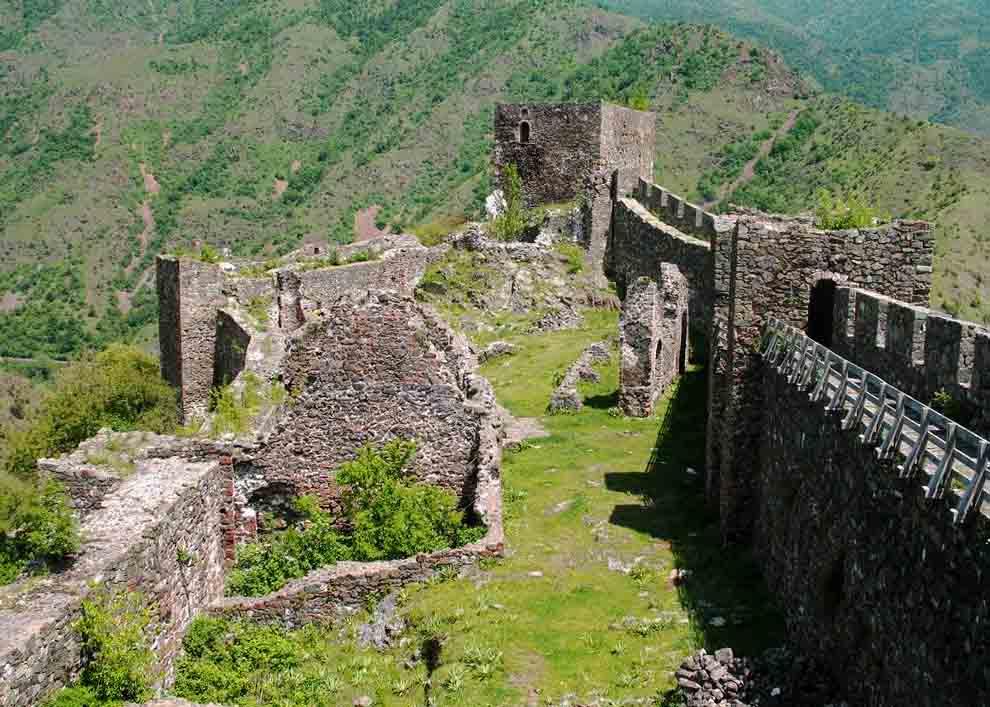 Крепость Сербии Маглич