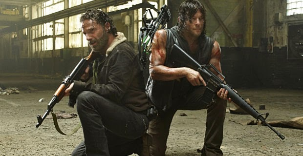 The Walking Dead premieres fifth season turned into a television franchise